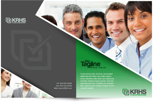 Human Resource Brochure Design