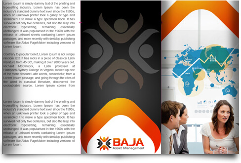 Management Company Brochure Design