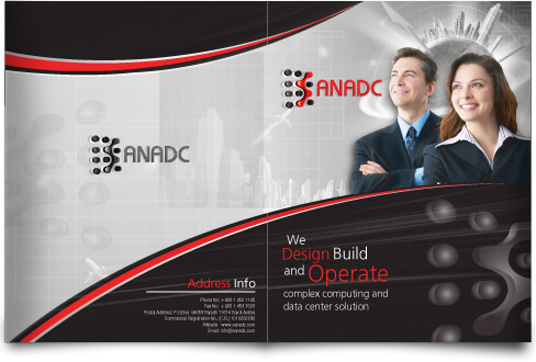 IT Company Brochure Design