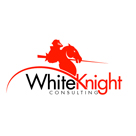 WhiteKnight Consultanty Logo Design