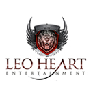 LeoHeart Entertainment Logo Design