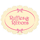 Ruffles & Ribbons Accessories Logo Design