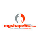 Myshapes Fitness Logo Design
