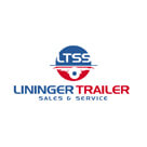 Lininger Trailer Logistic Logo Design