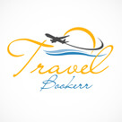 Travel Booker Travel Logo Design