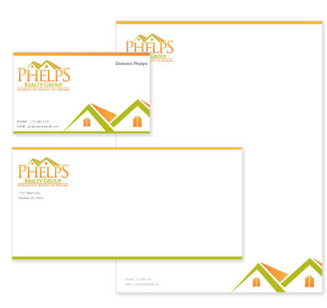 Realty Group Stationery Design
