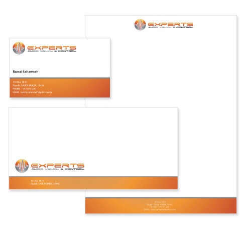 Technology Stationery Design