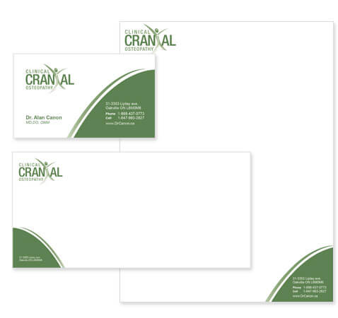 Clinic  Stationery Design